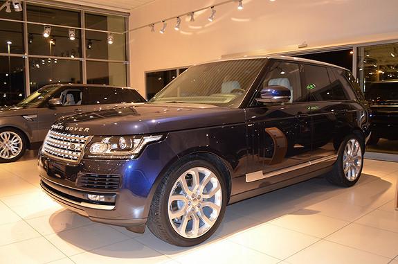Land Rover Range Rover Vogue TV, webasto, 825 watt