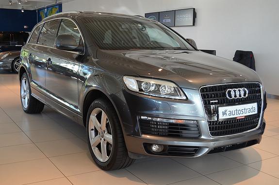 Audi Q7 2x S-Line m/ Webasto/ Panorama/ Luft++  2009,