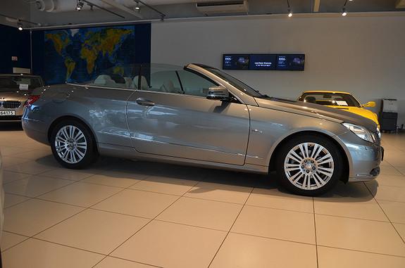 Mercedes-Benz E-Klasse E220 Avantgarde Cabriolet,