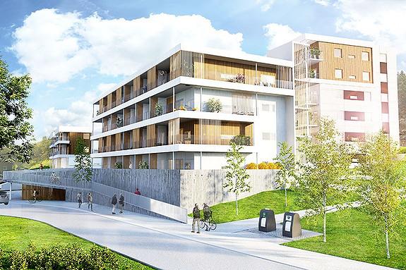 Råstølen Park trinn 1 - innflytting fra sommeren 2016! Fremdeles noen ledige leiligheter.