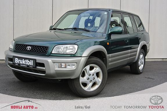 Toyota RAV4 2,0 4wd 5-dørs - Lite rust - Eu Godkjent 2015  1999, 248000 km, kr 49900,-
