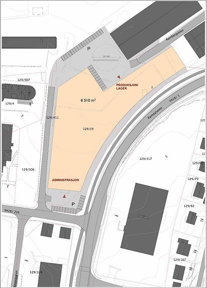 Prosjekt nybygg, Produksjon, lager, kontor 6000m2 på Kaldnes
