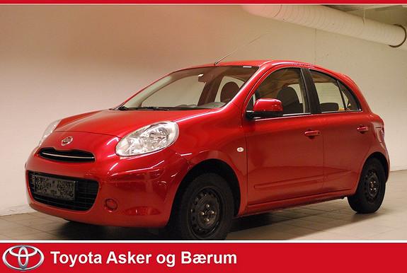 Nissan Micra 1,2 80hk Acenta  2011, 27500 km, kr 104000,-