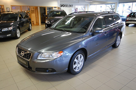Volvo V70 2,4 D aut Momentum Edition 175 hk, automat, skinnseter,90 000km, bluetooth, parkvarmer  2010, 91000 km, kr 299000,-