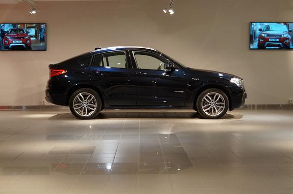BMW X4 20dA M-Sport 190 hk, nav pro, head-up  2014,