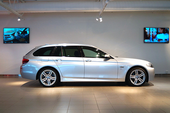 BMW 5-serie 520dA xDrive Touring M-sport  2014,