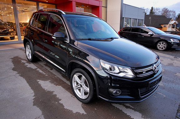 Volkswagen Tiguan 2,0 TDI 140hk 4M BMT Exclusive R DSG  2013, 89000 km, kr 389000,-