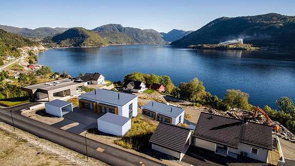 Funkis ved Førdefjorden Naustdal