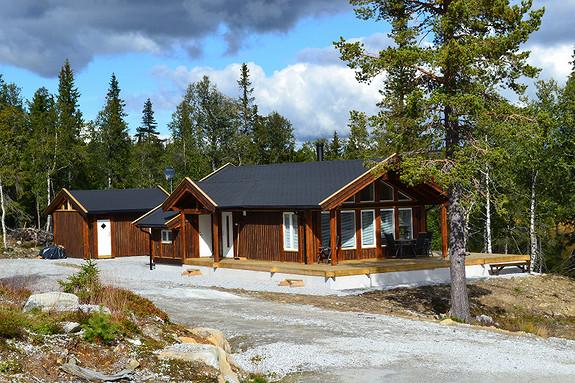 Nye hytter prosjektert på vakre Sundtjønnskarven og Svartløk-Smylehaug hyttegrend.