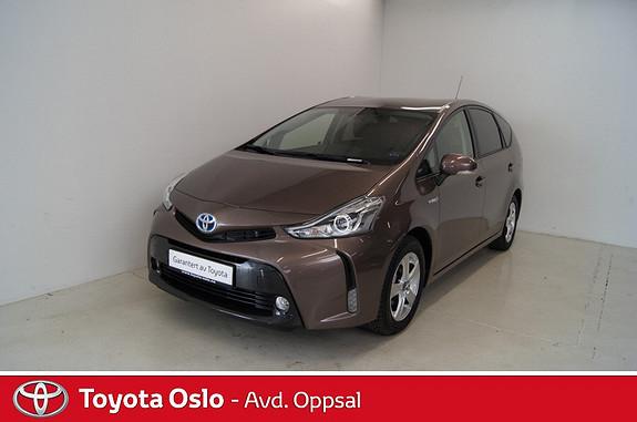 Toyota Prius+ Seven 1,8 VVT-i Hybrid Executive  2015, 2142 km, kr 359900,-