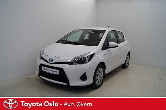Toyota Yaris 1,5 Hybrid Active  2013, 30726 km, kr 179900,-