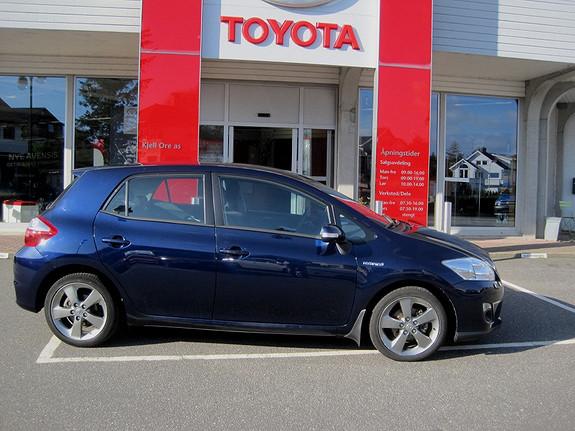 Toyota Auris 1,8 Hybrid E-CVT Executive m/Navi og ryggekamera  2012, 56000 km, kr 209000,-