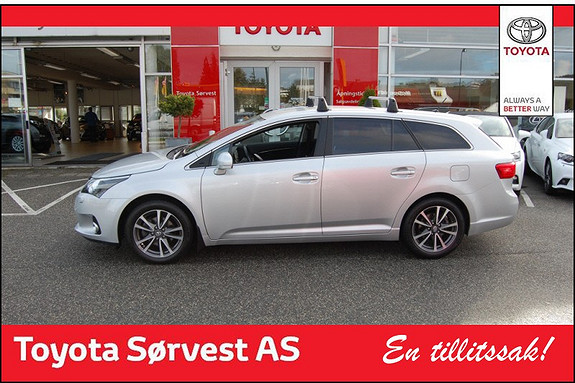 Toyota Avensis 1,8 147hk Advance Multidrive S  2013, 42600 km, kr 299000,-