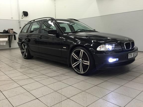BMW 3-serie 320d Touring Hel og grei bil , god teknisk stand, org xenon lys, delskinn,