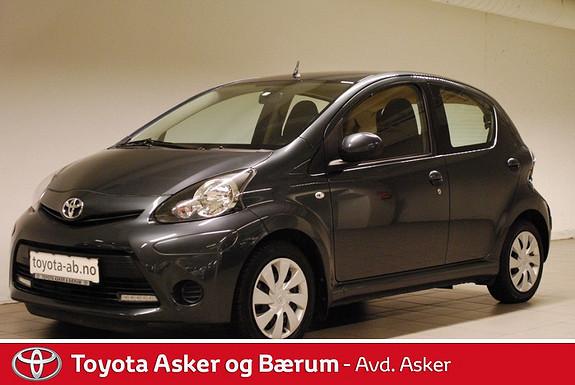 Toyota Aygo 1,0 + 5-d  2012, 41400 km, kr 109000,-