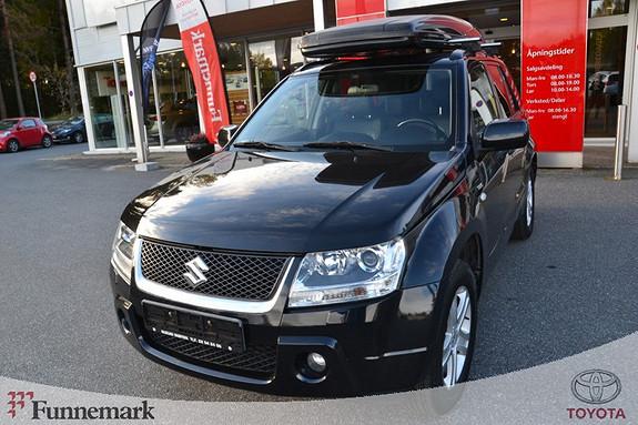Suzuki Grand Vitara 1,9 DDiS LTD m/skinn/Soltak  2007, 95600 km, kr 163000,-