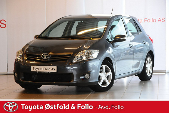 Toyota Auris 1,4 D-4D (DPF) Advance Fjernstyrt dieselvarmer. Lav km  2011, 48622 km, kr 159000,-