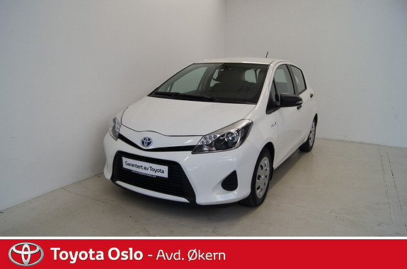 Toyota Yaris 1,5 Hybrid Sense  2012, 17750 km, kr 159900,-