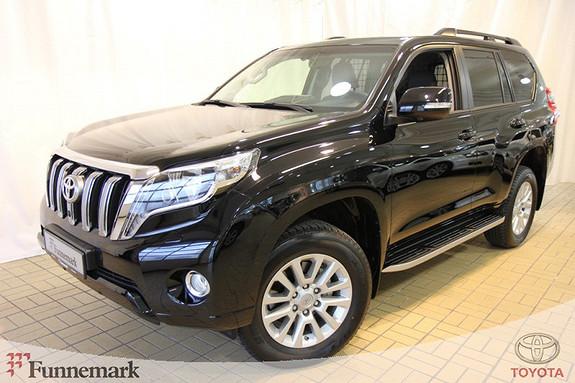 Toyota Land Cruiser 3,0 D-4D VX Aut Skinn Navi  2015, 6619 km, kr 579000,-