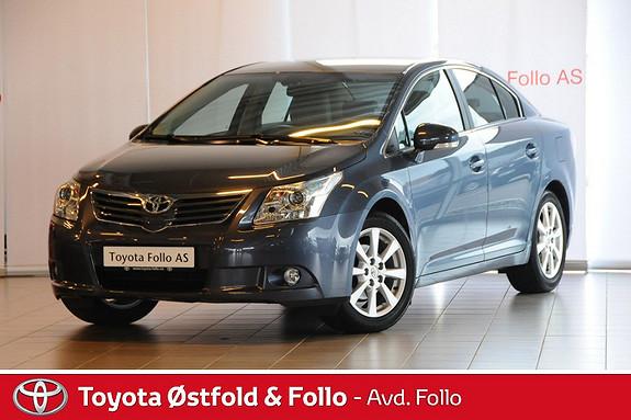 Toyota Avensis 1,8 147hk Executive Multidrive S Lav km velutstyrt meget velholdt hengerfeste  2011, 35492 km, kr 239000,-