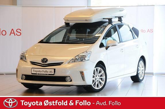 Toyota Prius+ Seven 1,8 VVT-i Hybrid Premium  2012, 43360 km, kr 315000,-