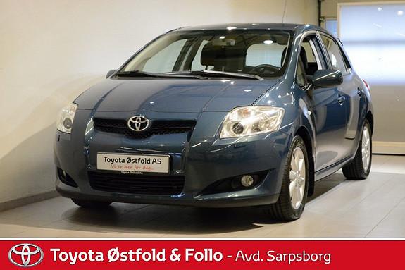 Toyota Auris 1,4 D-4D Sol MM  2007, 78500 km, kr 112000,-