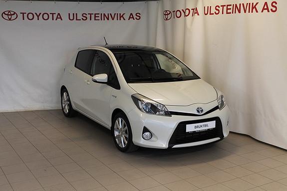 Toyota Yaris 1,5 Hybrid Style  2012, 16000 km, kr 189000,-