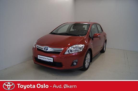 Toyota Auris 1,8 Hybrid E-CVT Executive Inntil 10 års garanti på hubridbatteri.  2012, 32170 km, kr 199900,-