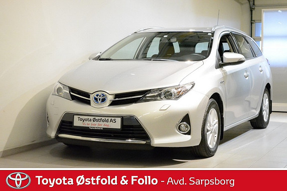 Toyota Auris Touring Sports 1,8 Hybrid Active , INNTIL 10 ÅRS HYBRIDBATTERI GARANTI,  2013, 32200 km, kr 248000,-