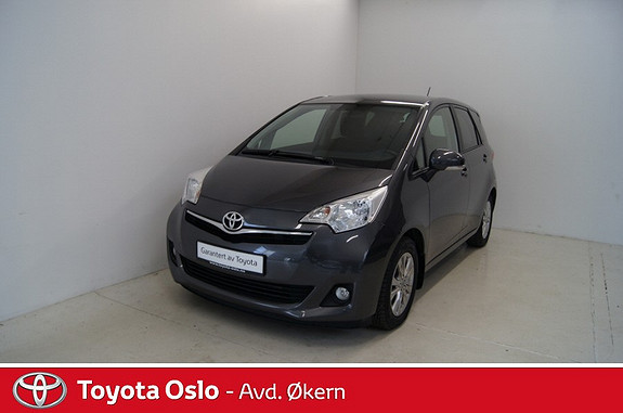 Toyota Verso-S 1,33 Dynamic Style S&S Multidrive S  2012, 42624 km, kr 189900,-