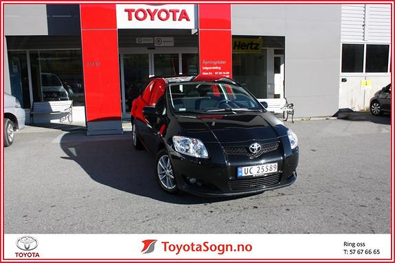 Toyota Auris 1,33 Sol Stop&Start  2009, 19500 km, kr 139000,-