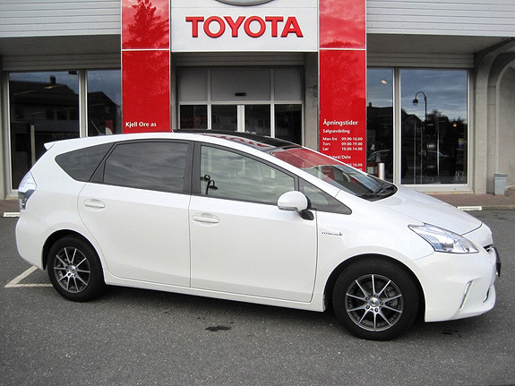 Toyota Prius+ Seven 1,8 VVT-i Hybrid Executive  2012, 60277 km, kr 279000,-