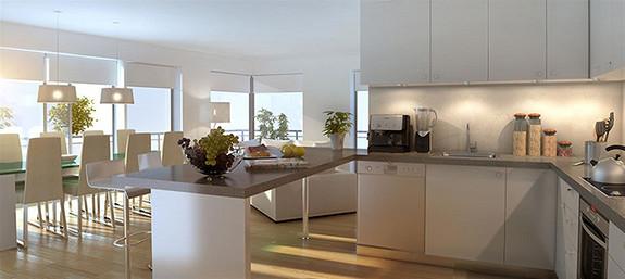 Horisont Hus C - 41 moderne leiligheter med gode solforhold og sentral beliggenhet.