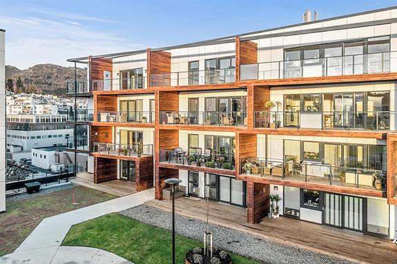 Horisont i Åsane - Nyoppført og romslig 3-roms endeleilighet med stor terrasse. Flott takhage rett utenfor døren.