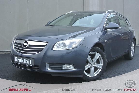 Opel Insignia 2,0 CDTi 110hk Edition Business Sportstourer Navi - Xenonlys - Garanti  2009, 133600 km, kr 119900,-