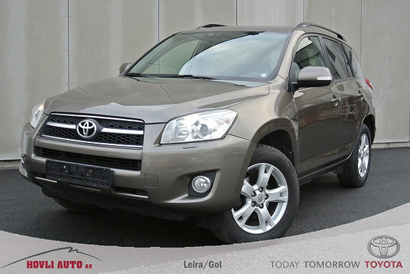 Toyota RAV4 2,2 D-4D Executive Fj.styrt Dieselvarmer - Alle servicer - H.feste - 1 års garanti  2010, 153300 km, kr 219900,-