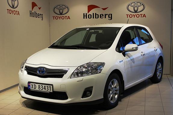 Toyota Auris 1,8 Hybrid Advance HSD - navigasjon, bluetooth, ryggekamera  2012, 62000 km, kr 185000,-