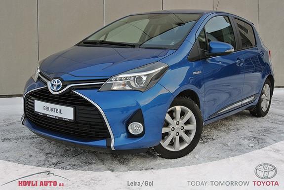 Toyota Yaris 1,5 Hybrid Style e-CVT En eier - Ny i Norge - Nybilgaranti 2019 - Understellsbehandlet  2015, 18330 km, kr 229900,-
