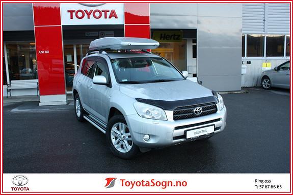 Toyota RAV4 2,2 D-4D 136hk DPF Fin bil som har panserbeskytter, Takboks, stigtrinn, hengerfeste++  2007, 219800 km, kr 129000,-