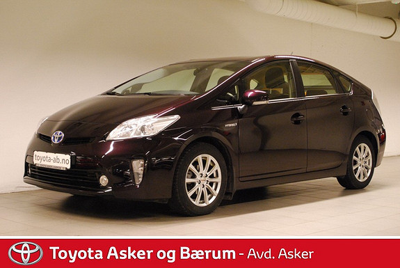 Toyota Prius 1,8 VVT-i Hybrid Advance RENTEKAMPANJE 2,95%  2012, 45000 km, kr 199000,-