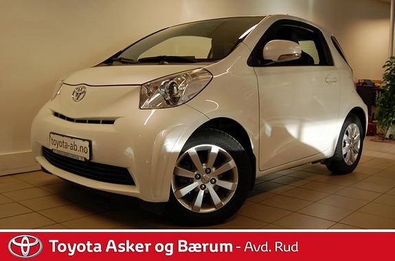 Toyota IQ 1,0VVT-i RENTEKAMPANJE  2012, 43900 km, kr 109000,-