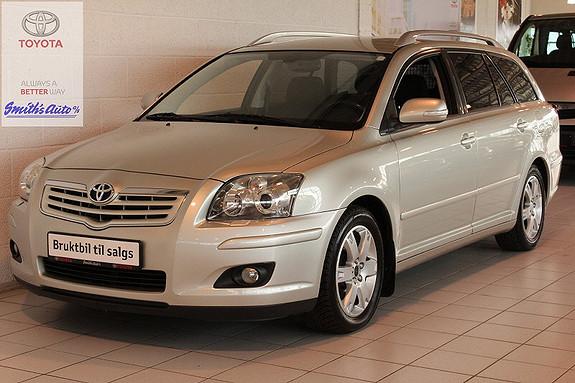 Toyota Avensis 2.0 NAVITECH PLUSS INNBYTTEGARANTI KR. 20.000,-  2008, 111000 km, kr 139000,-