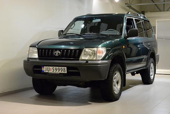 Toyota Land Cruiser 3,0 Diesel  1998, 188500 km, kr 135000,-