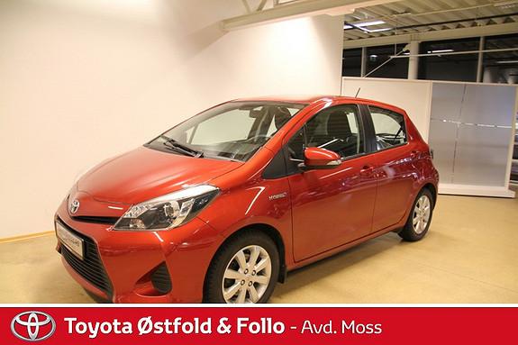 Toyota Yaris 1,5 Hybrid Active  2013, 31300 km, kr 179000,-