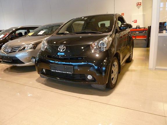Toyota IQ 1.0 VVT-i 5-trinns manuell 3-dørs 68 HK  2010, 27696 km, kr 99000,-