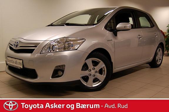 Toyota Auris 1,8 Hybrid Advance HSD RENTEKAMPANJE  2011, 24600 km, kr 169000,-