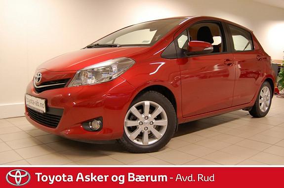 Toyota Yaris 1,33 Style Multidrive S Navikampanje RENTEKAMPANJE  2012, 26000 km, kr 159000,-
