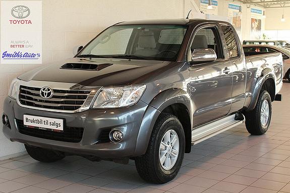 Toyota HiLux 2.5 SR INNBYTTEGARANTI KR. 20.000,-  2014, 19500 km, kr 329000,-