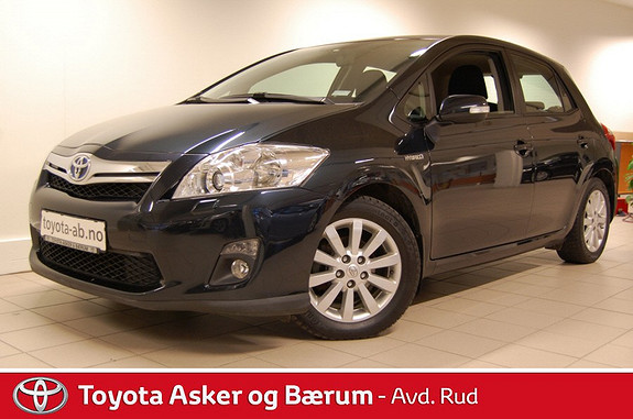 Toyota Auris 1,8 Hybrid Advance HSD RENTEKAMPANJE  2012, 44825 km, kr 185000,-