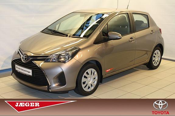 Toyota Yaris 1,0 Active  2015, 1750 km, kr 169000,-